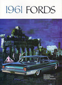 1961 FORD FAIRLANE/ 500/GALAXIES SALES BROCHURE