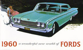 1960 FORD FAIRLANE/ GALAXIE SERIES SALES BROCHURE