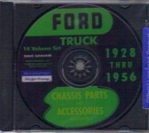 28 31 32 50 51 52 54 56 FORD TRUCK CHASSIS PARTS ON CD