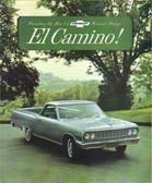 1964 EL CAMINO STANDARD & CUSTOM SALES BROCHURE