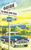 1953 CHEVROLET PASSENGER CAR OWNERS MANUAL