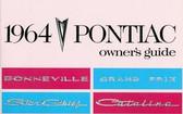 64 PONTIAC BONNEVILLE/CATALINA/GRAND PRIX OWNERS MANUAL