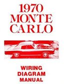 1970 CHEVROLET MONTE CARLO WIRING DIAGRAM MANUAL