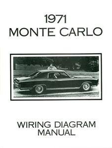 1971 chevrolet monte carlo wiring diagram manual mjl motorsports com 96 chevy monte carlo 1971 chevrolet monte carlo wiring diagram manual image 1 loading zoom
