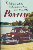 1949 PONTIAC MANUAL-6 & 8 CYLINDER