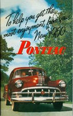 1950 PONTIAC MANUAL-6 & 8 CYLINDER