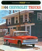 1964 CHEVROLET PICKUP TRUCK SALES BROCHURE