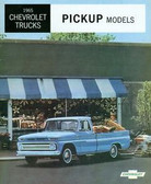 1965 CHEVROLET PICKUP TRUCK SALES BROCHURE