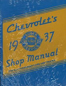 1937 CHEVROLET PASSENGER CAR/TRUCK SHOP MANUAL