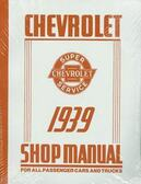 1939 CHEVROLET PASSENGER CAR/TRUCK SHOP MANUAL