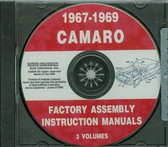 67 68 69 CAMARO/SS/Z28/RS ASSEMBLY MANUAL ON CD
