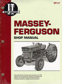 MASSEY-FERGUSON TRACTOR SHOP MANUAL- MF135 MF150 MF165