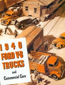 1940 FORD V-8 TRUCKS & COMMERICAL CARS SALES BROCHURE-60, 85 &95 HP