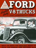 1935 FORD V-8 TRUCKS & COMMERICAL CARS SALES BROCHURE-80 HP