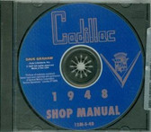 1948 CADILLAC SHOP/BODY MANUAL ON CD