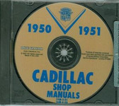1950 1951 CADILLAC SHOP/BODY MANUAL ON CD
