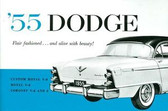 1955 DODGE CORONET V-8 & 6/ROYAL/CUSTOM ROYAL V-8 PASSENGER CAR OWNER'S MANUAL