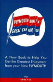 1942 PLYMOUTH PASSENGER CAR OWNER'S MANUAL