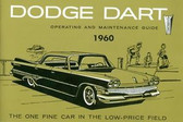 1960 DODGE DART OWNER'S MANUAL