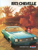 1973 73 CHEVELLE/ SS 454 SALES BROCHURE