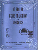 1937-1938 CHEVROLET BODY REPAIR MANUAL