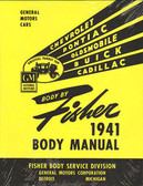 1941 CHEVROLET BODY REPAIR MANUAL