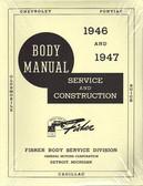 1946-47 CHEVROLET BODY REPAIR MANUAL