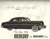 1951 MERCURY SALES BROCHURE