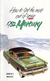 1952 MERCURY OWNERS MANUAL