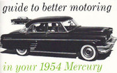 1954 MERCURY OWNERS MANUAL