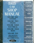 1969 COUGAR/XR-7/FALCON SHOP MANUAL
