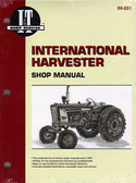 INTERN'L HARVESTER SHOP MANUAL-100 130 140 200 230 240