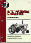 INTERN'L HARVESTER SHOP MANUAL-786 886 986 1086