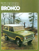 1976 FORD BRONCO SALES BROCHURE