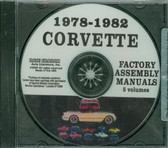 78 79 80 81 82 CORVETTE ASSEMBLY MANUAL ON CD