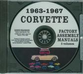 63 64 65 66 67 CORVETTE ASSEMBLY MANUAL ON CD