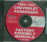 65 66 67 CHEVY PASSENGER CAR ASSEMBLY MANUAL ON CD