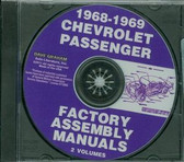 1968 69 CHEVY PASSENGER CAR ASSEMBLY MANUAL ON CD