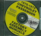 1970 71 72 CHEVY PASSENGER CAR ASSEMBLY MANUAL ON CD