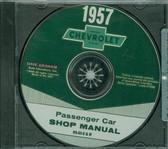 1957 57 CHEVY PASSENGER CAR SHOP BODY REPAIR MANUAL ON CD