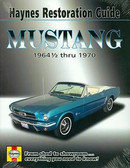1964 1/2 65 66 67 68 69 70 MUSTANG/MACH I RESTORATION GUIDE-NEW-FULL COLOR