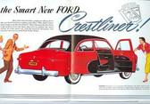 1950 FORD CRESTLINER CAR SALES BROCHURE