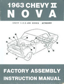 1963 NOVA/SS/CHEVY II FACTORY ASSEMBLY MANUAL
