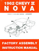 1962 NOVA/SS/CHEVY II FACTORY ASSEMBLY MANUAL