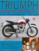 1953 54 55 56 57 58 59 60 61 62 TRIUMPH MOTORCYCLE RESTORATION