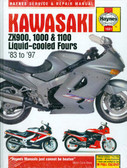 1983 84 85 86 87 90 91 92 93 94 95 96 97 KAWASAKI ZX900 1000 1100 SHOP MANUAL
