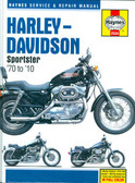 1970 THRU 2010 883 1000 1100 1200 HARLEY-DAVIDSON SPORSTER SHOP MANUAL