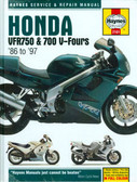1986 87 88 89 90 91 92 93 94 95 96 97 HONDA VFR750/ 700 V- FOURS SHOP MANUAL