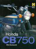 1969-78 HONDA CB750-COLOR HISTORY-HARD BOUND