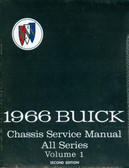 1966 BUICK SHOP MANUAL -ALL MODELS-2 VOLUMES
